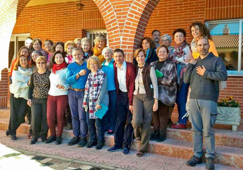 Participantes de las Jornadas del Silencio