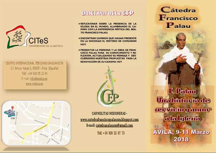 Cátedra Francisco Palau