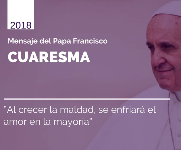 Cuaresma, Papa Francisco