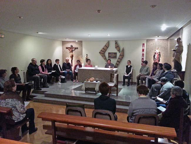La Semana Santa en la Casa Carmelitana en Ávila