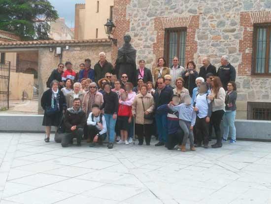 Peregrinación en junio, Ávila