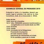Asamblea General de Prokarde 2019
