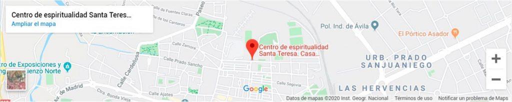 Centro de espiritualidad Santa Teresa. Casa Carmelitana